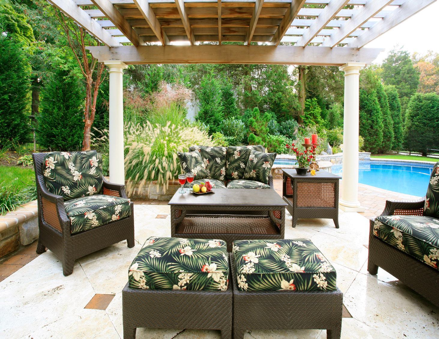 Outdoor Decorating at its finest | Catherine Pulcine The CPI Team