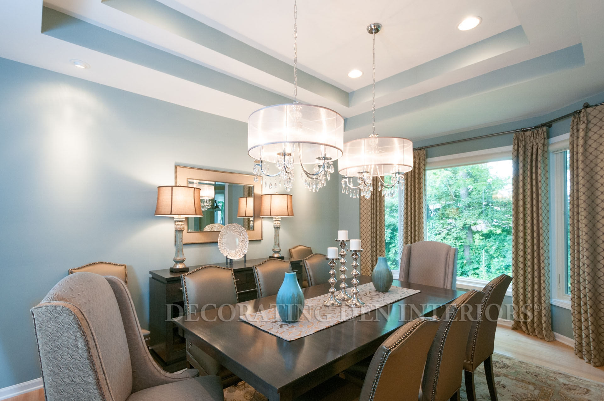 Captivating Dining Room Accent Pieces Pictures