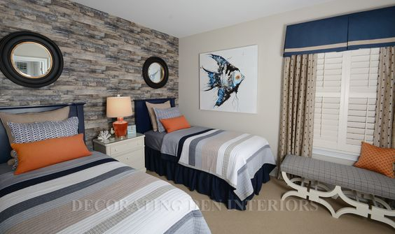 Bedroom - blue_orange