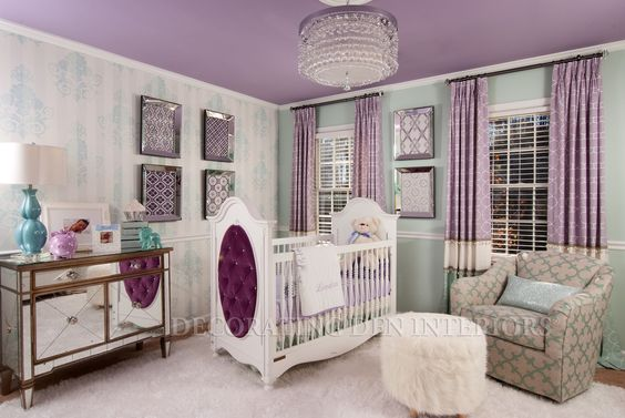Purple childrens room